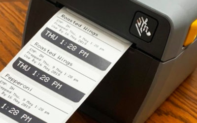 Here's How a Food Preparation Label Printer Beats Handwritten Labels